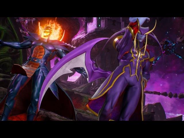 Marvel vs Capcom Infinite Jedah, Dormmamu, Firebrand, and Ghost Rider Gameplay Trailer