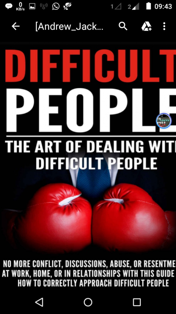 Difficult People The Art Of Dealing