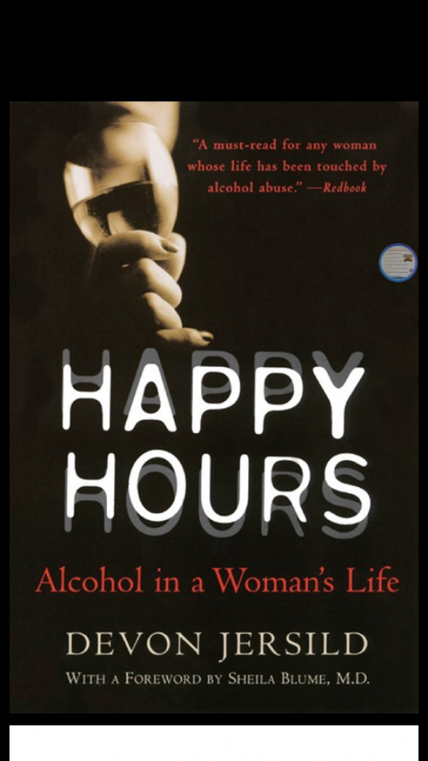 Happy Hours Alcohol in a Woman's
