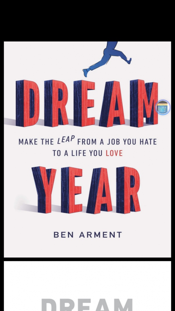 dream year make the leap from a job