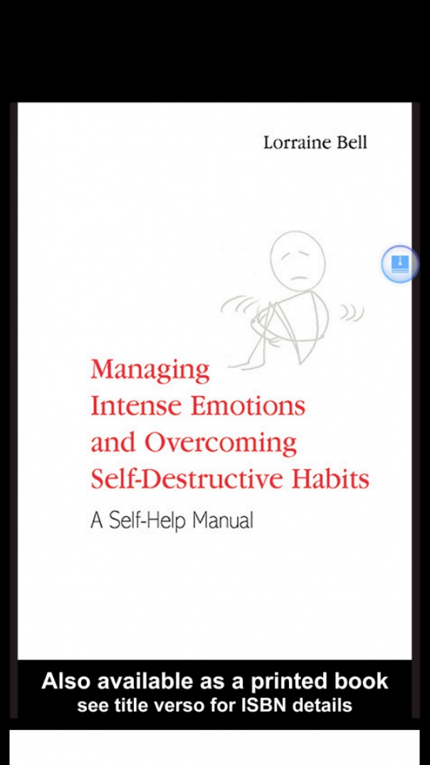 Managing Intense Emotions and Over