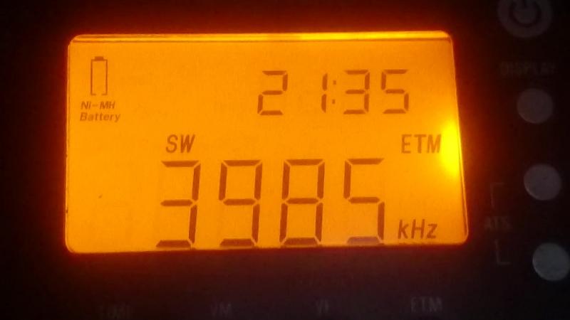 3985kHz Radio Slovakia International Kall Krekei Germany ~1859km