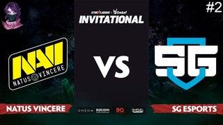 NaVi vs SG e-Sports RU #2 (bo3) SL i-League Invitational S5 Minor