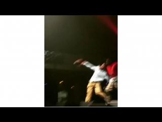 Тайлер выступил на концерте своего любимого рэпера Карти