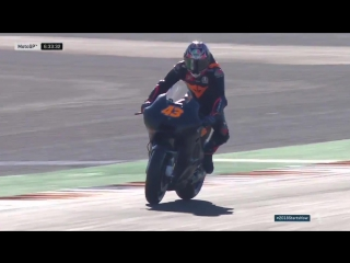 Miller heads out on track