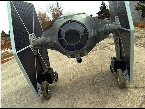 Star Wars Tie Fighter - Homemade, Electric, Driveable