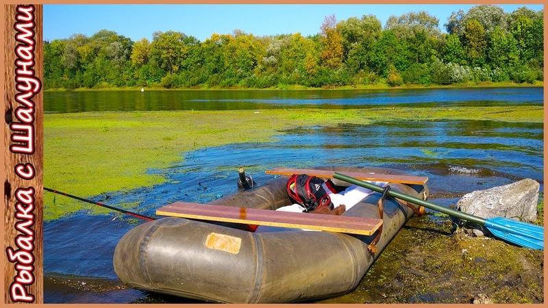 Рыбалка на щуку с лодки на реке Шнурки атакуют