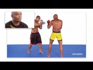Anderson Silva - Boxing for MMA (part 1)