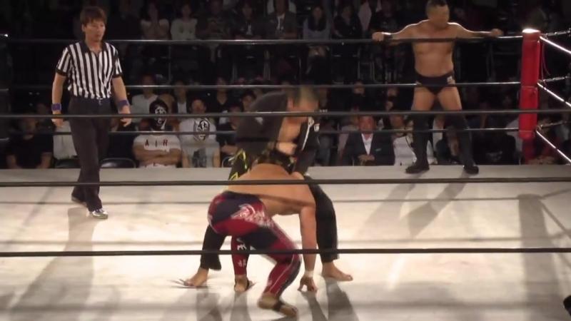 Hikaru Sato Takuya Kai vs Ryuichi Sekine Takatoshi Matsumoto Tokyo Gurentai Tokyo Carnival 2018