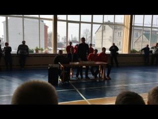 ФК Металлург на встрече с усманскими юными футболистами