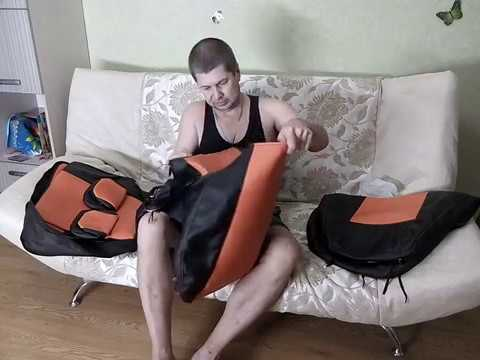 Клиент получил АВТОЧЕХЛЫ SEATEX на Калину Кросс