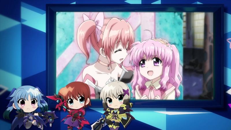 Mahou Shoujo Lyrical Nanoha Reflection special 「Ou sama tachi no sakusen kaigi」 weekly movie 4