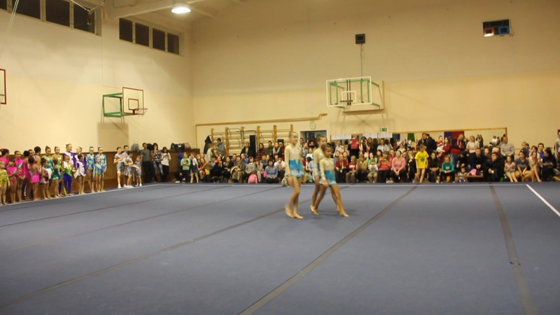 Награждение! Секция спортивная акробатика Первенство РБ 1 юношеский разряд