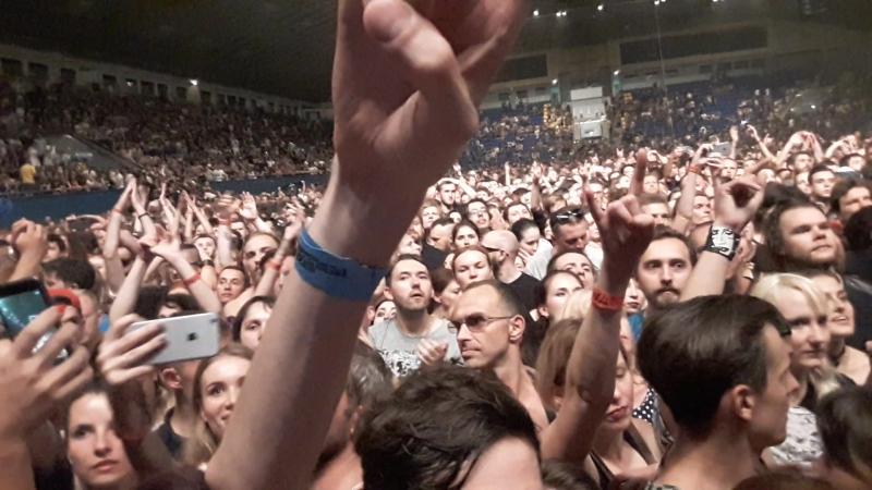 Marilyn Manson - FAN1 crowd (Live, Kiev 2017)