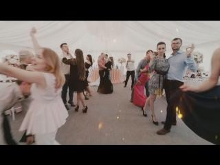 Манекен челендж на свадьбе у Саши и Даши. Студия Отражение