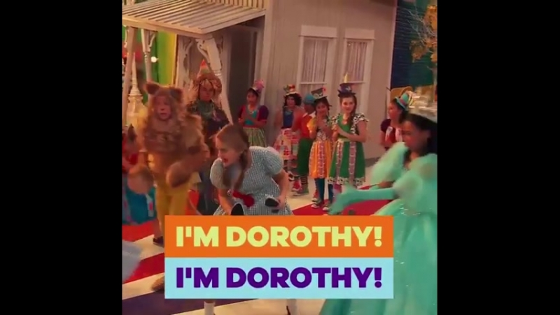 Its Lizzy vs. Jade only one can be Dorothy! See wholl sing their way OverTheRainbow on a special NRDD next Saturday! 🎶