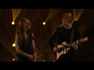 Лучшие моменты The Voice :Ed Sheeran and Christina Grimmie - All of the Stars
