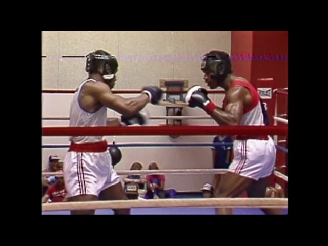 Mike Tyson KOs Olian Alexander Amateur Boxing