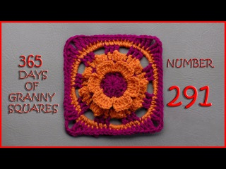 365 Days of Granny Squares Number 291