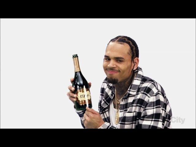 Chris Brown on Blackish Put Some Uvo on It Ad
