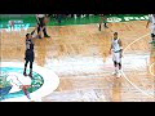 Damian Lillard invading Stephen Curry Range | Blazers vs Celtics | March 2, 2016 | NBA