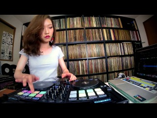 DJ SARA ★ Freestyle Scratch with djay Pro and Reloop Beatpad 2