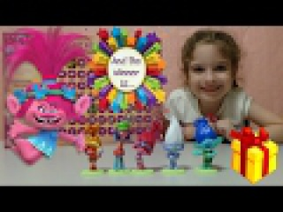 TROLLS Escape from Bergen Town playing with Mom video for kids
