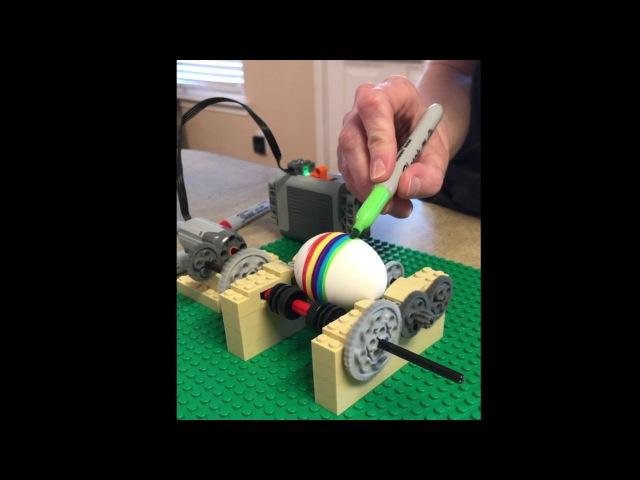 Машинка для росписи яиц из ЛЕГО