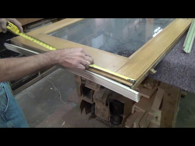 Hưỡng dẫn lắp gioăng chặn chân cửa gỗ