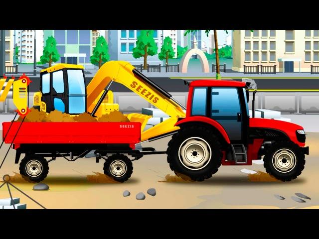 Traktory Prace Na Farmie Bajka Dla Dzieci Przygody