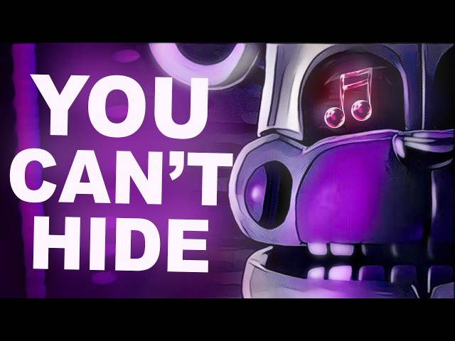 FNAF SISTER LOCATION SONG | You Can't Hide by CK9C [Official SFM]