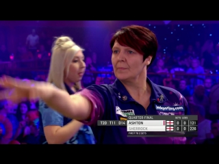 Lisa Ashton vs Fallon Sherrock (BDO World Darts Championship 2017 / Quarter Final)