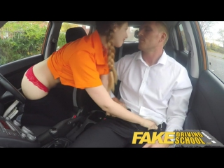 Fake driving school pigtailed cutie gets a face full of cum [hd, star, pov , big tits, big ass, new porn 2017]