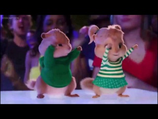 Alvin and the Chipmunks Road Chip Juicy wiggle Scene