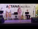 Выступление Ангелины в MEGA SILKWAY