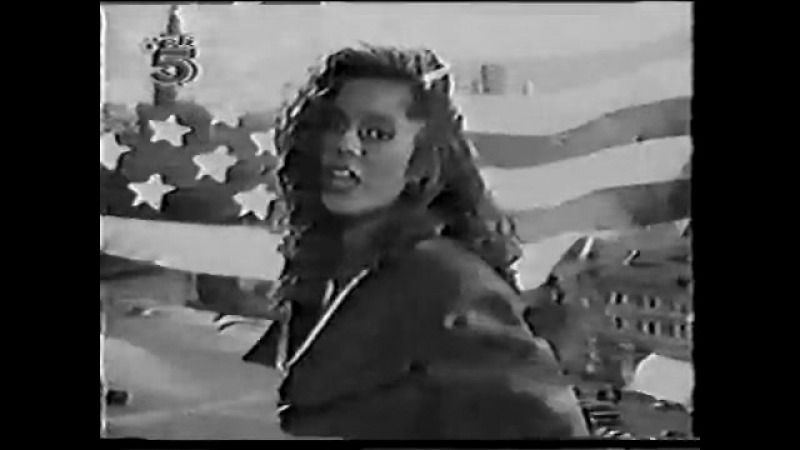 Sheree - Ronny talk to russia 1989 (TELE5 TV channel france)