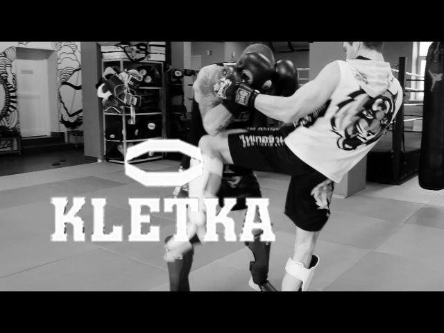Удары руками удар коленом комбинации в тайском боксе от Андрея Басынина и Виталия Дунец