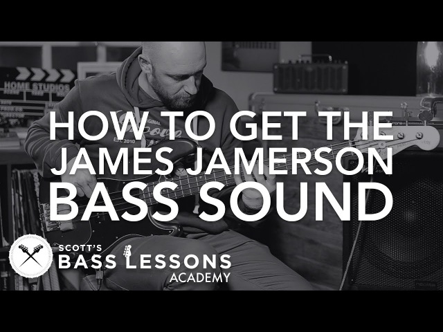 James Jamerson Motown Bass Sound Scott's Bass Lessons