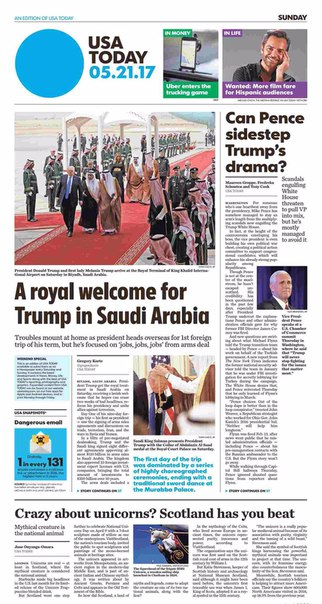 USA Today May 21 2017