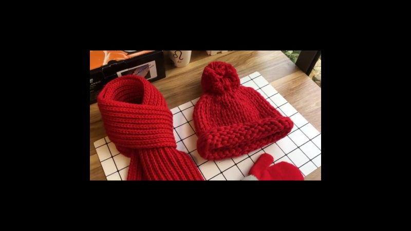 Зимний комплект детский: шапка, шарф, варежки. Артикул ГУД-222; ГУД-223; ГУД-224; ГУД-225; ГУД-226