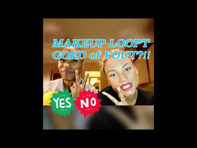 Makeup door Mitchel Gray loopt goed of fout