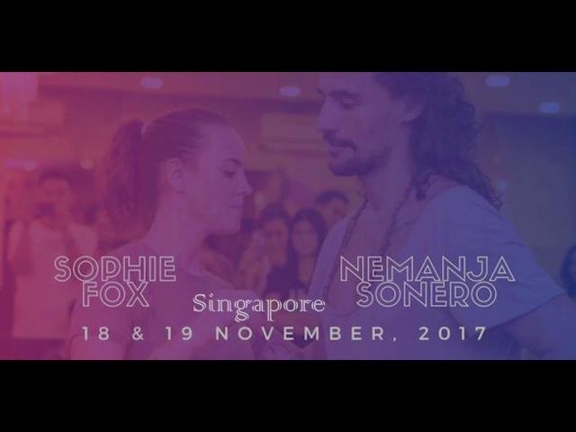 Nemanja Sonero Sophie Fox Singapore 2017 Demo improvisation