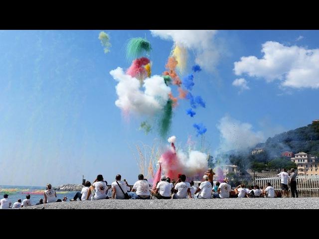 RECCO ★ Sagra del Fuoco ★ La Tirrena Fireworks dei Ferraro HD