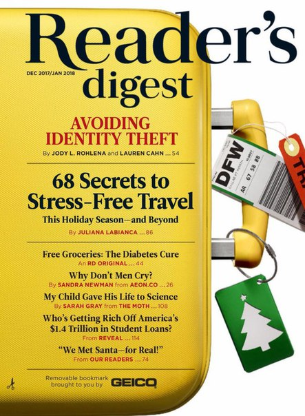 Reader s Digest USA  January 2018