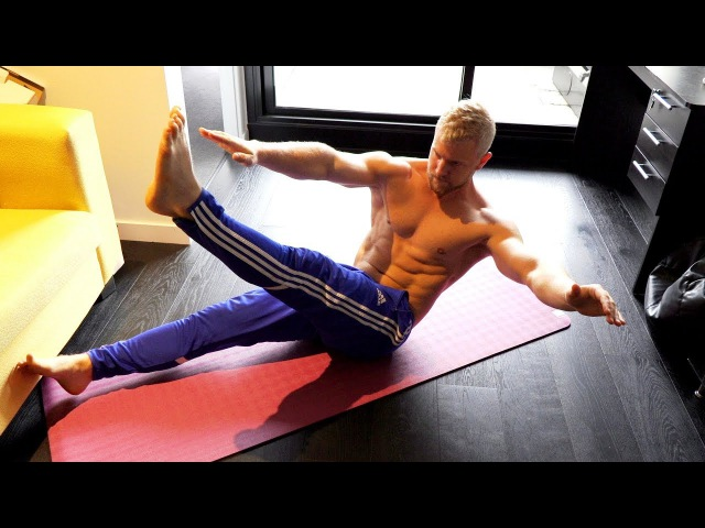 V Cut Abs Home Workout