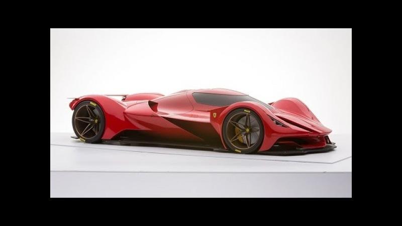 Future Design of Ferrari Le Mans by Marcello Raeli