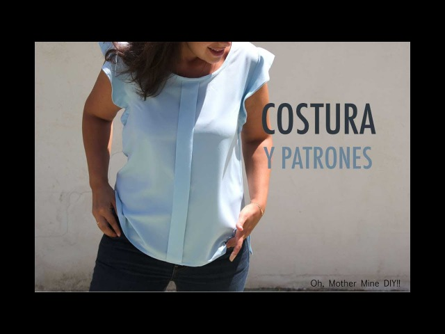DIY Costura Blusa mujer (patrones gratis)