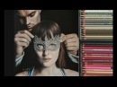 Fifty Shades Darker - Drawing Christian Grey and Anastasia