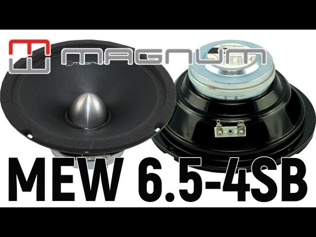 Обзор автомобильных динамиков Magnum MEW 6 5 4SB Прослушка Сравнение Отзыв