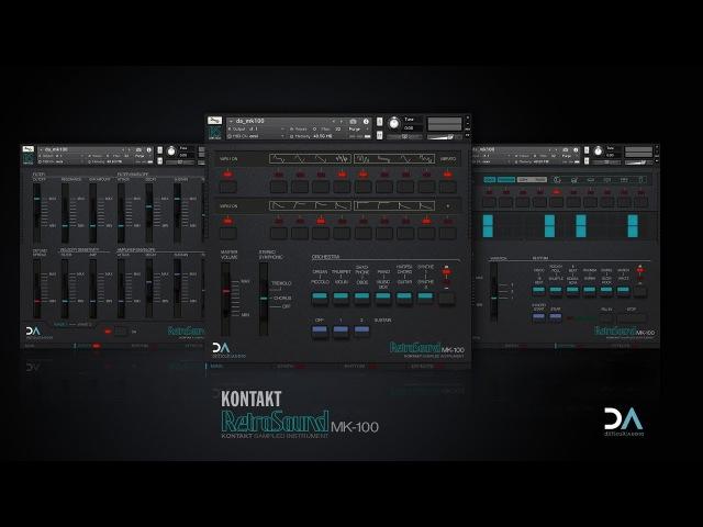 RetroSound MK 100 Kontakt Instrument